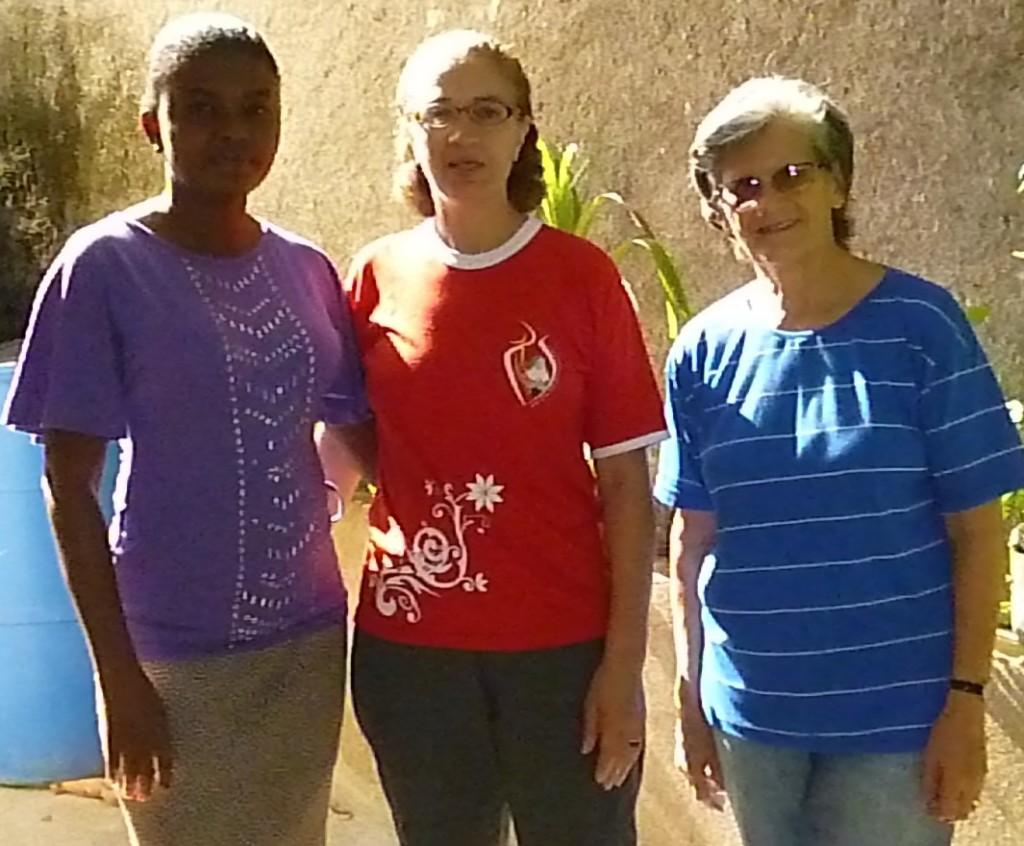 Irmãs ICM em Haiti