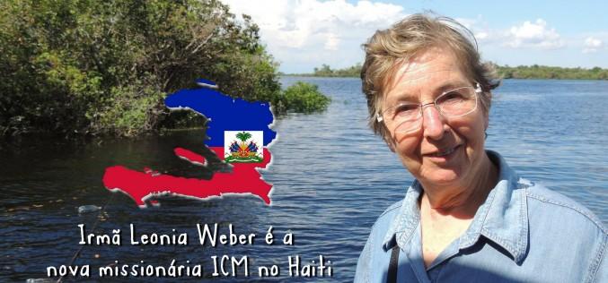 Irmã Leonia Weber é a nova missionária ICM no Haiti