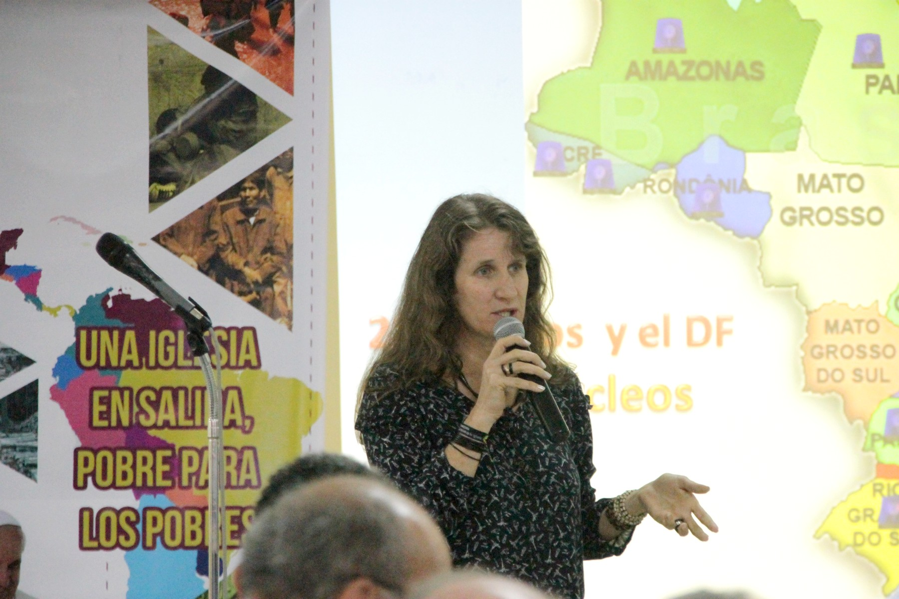 Ir. Roselei Bertoldo representou o Brasil no evento