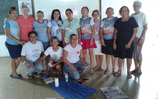 Visita da Irmã Maria Aparecida à comunidade de Picos